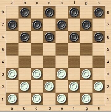 Основы правила игры в шашках для начинающих