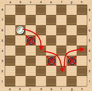 Правила игры в русских шашках