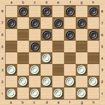 Тактика победы в шашках