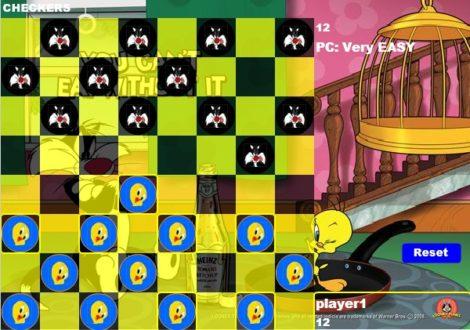Детские шашки играть онлайн
